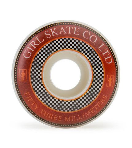 Girl Badges - White - 53mm