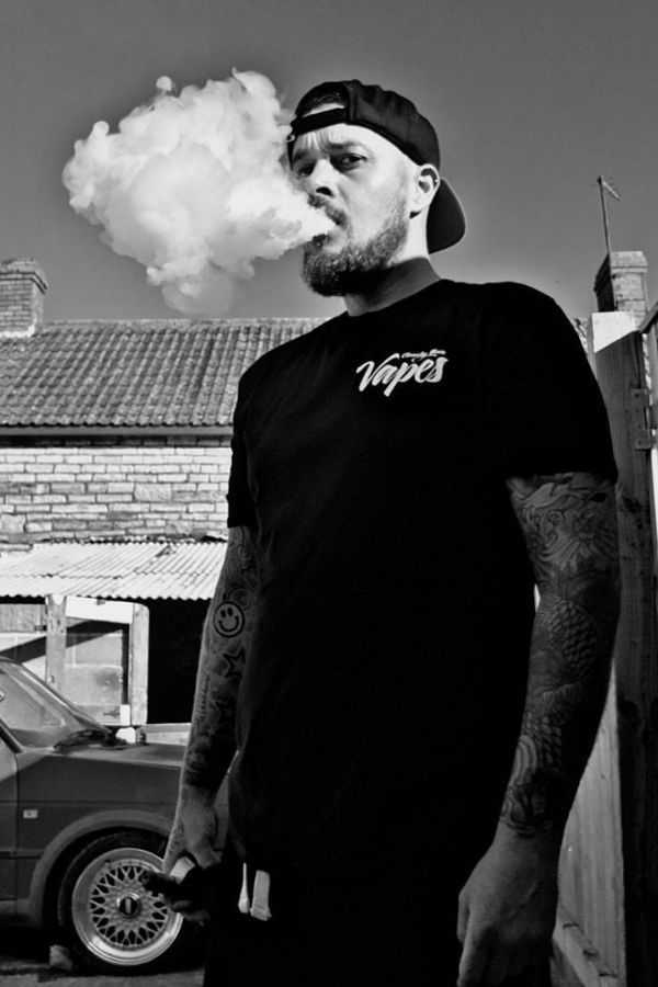 Repping the vapes t shirt go check them out and the team