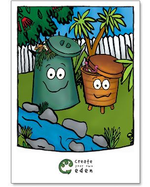 Create Your Own Eden - Composting at School Guide and Teacher Resources