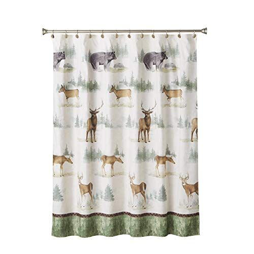 Multicolored Home on The Range Fabric Shower Curtain SKL Home by Saturday Knight Ltd