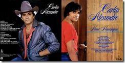 Vinil Campina: Carlos Alexandre - 1989 - Nossa Homenagem
