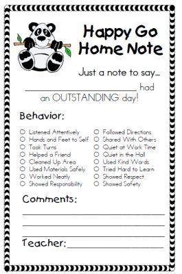 Cute! Behavior Management Supplemental Packet for Clip Chart |