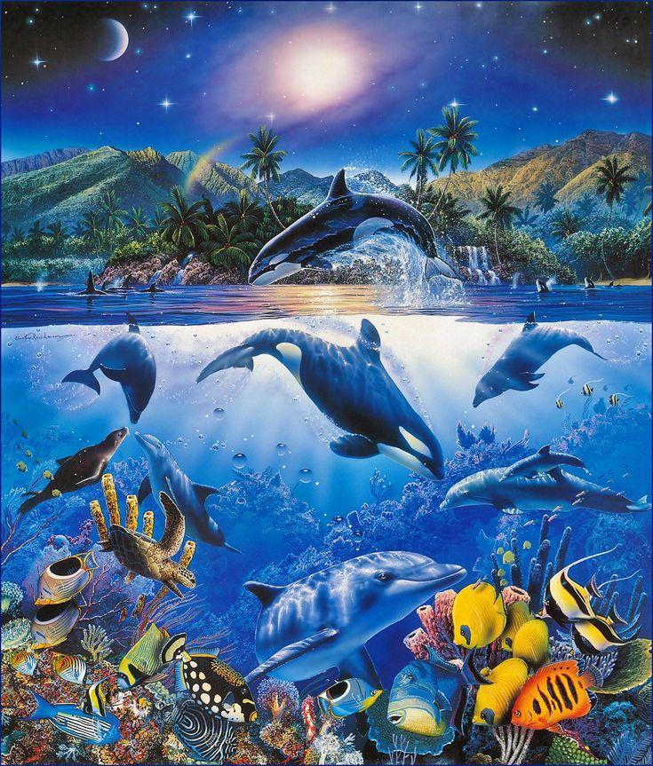 картинки на тему обитатели океана слухи зеках
