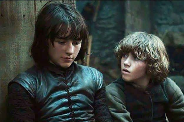 Bran and Rickon Stark