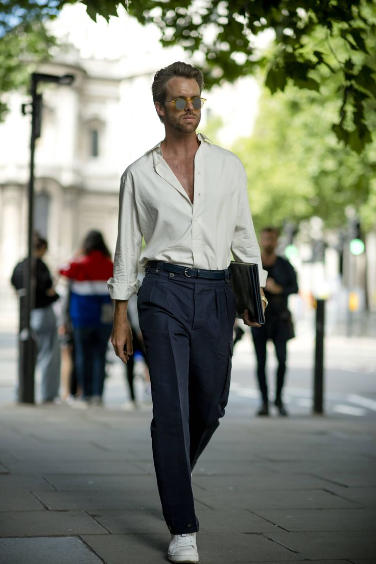 London Fashion Week Men's SS18: the strongest street style – Dalia Gonzalez