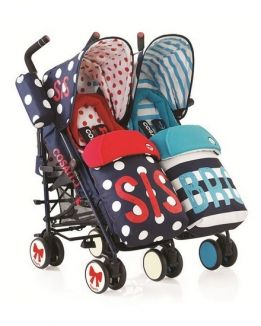 Детские коляски Коляски для двойни и погодок СOSATTO (КОСАТО)