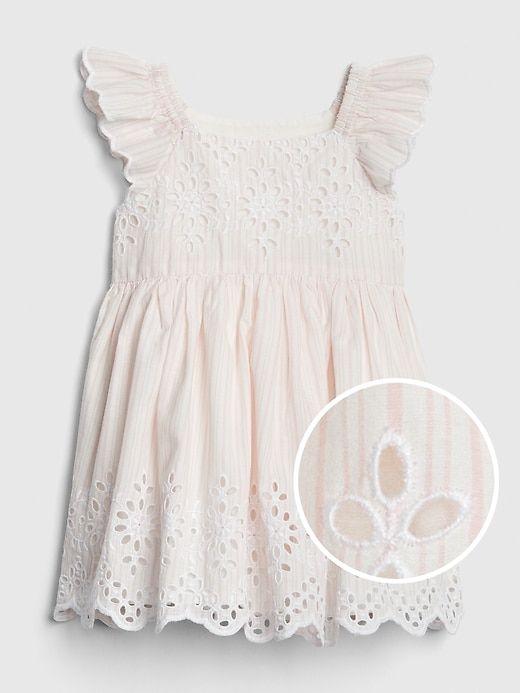 3c6d9cf55228 Gap Babies' Baby Eyelet Dress Pink Stripe in 2019 | Products ...