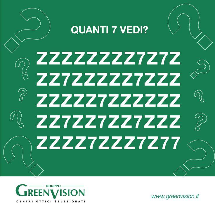Z o 7? Mettiti alla prova! #GreenVisionQuiz