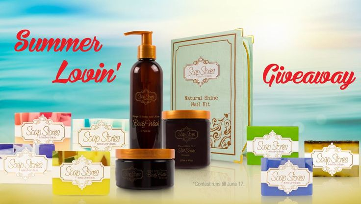 Are you ready for some summer lovin'?! Visit our Facebook page today for your chance to win a super deluxe bathcare set with a retail value of over $300! Contest runs from now until Wednesday, June 17 at noon and the winner will be announced that day! Good luck!!!:)))) xoxoxoxo #summerlovin #contest #giveaway #prizes #summersoaping #soapitup #soapstories
