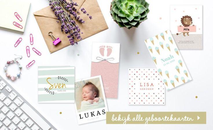 Goedkope Geboortekaarten volgens de laatste trends!