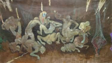 """Saatchi Art Artist Izolda Griner; , """"Carpet Crawlers"""" #art"""