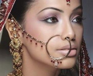 Indian Bridal large nose ring