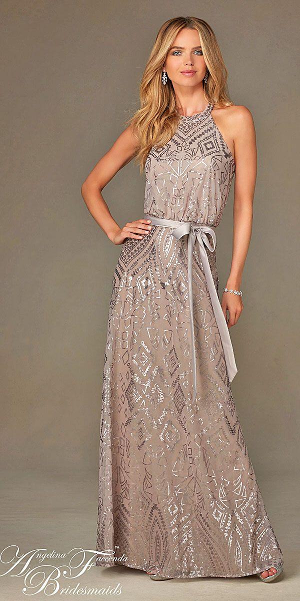 18 Full On Glitz Sequined & Metallic Bridesmaid Dresses 7