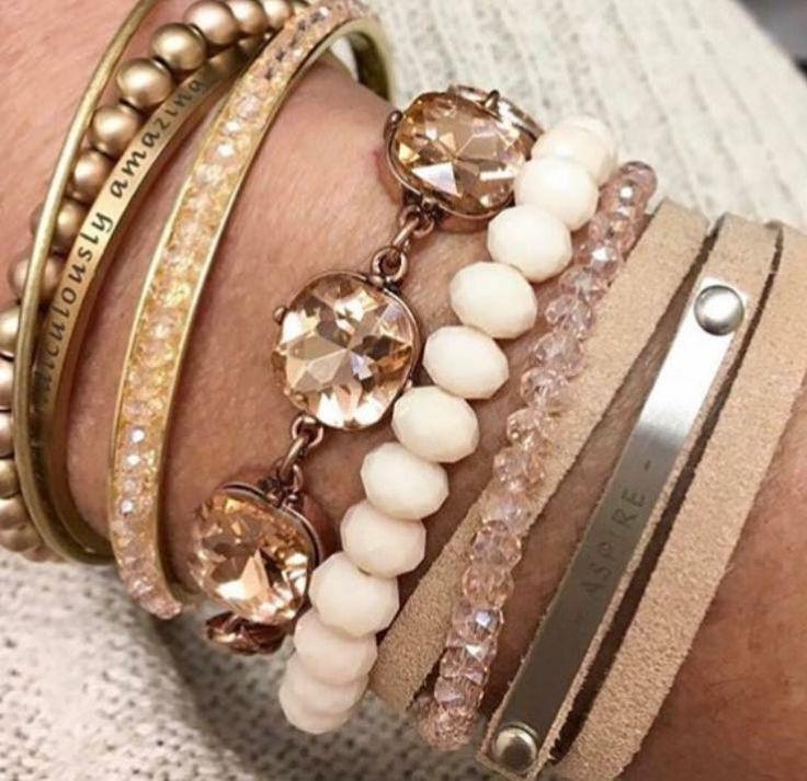 jBloom arm candy bracelets