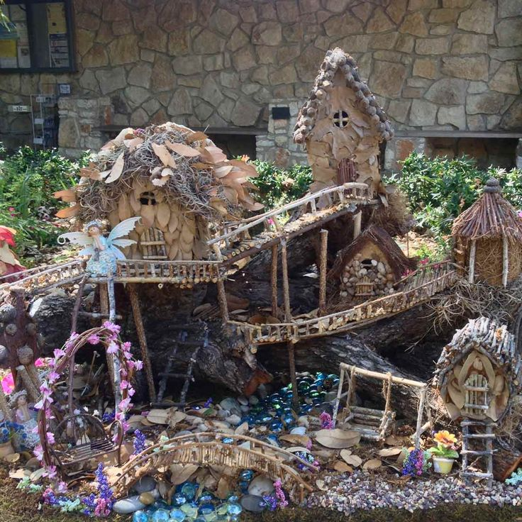 742 Best Fairy Houses,miniature Gardens And Other Small