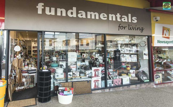 Fundamentals for living is a cool little kitchenware shop specialising in quality gadgets and cookware including Kitchenaid, Scanpan, Global, Zyliss, Cuisenart, Noeflam and many more. Reasonable prices and great gifting ideas.