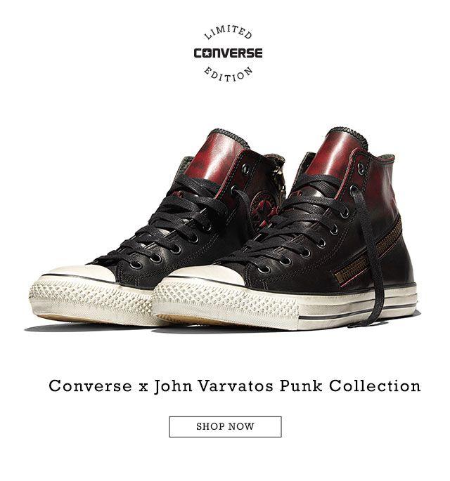 6e16c757dff6 Converse x John Varvatos Punk Limited Edition