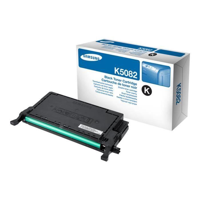 Cartouche de toner noir Samsung CLT-K5082S (SU189A) pour CLP-620/CLP-670 Series/CLX-6220-6250