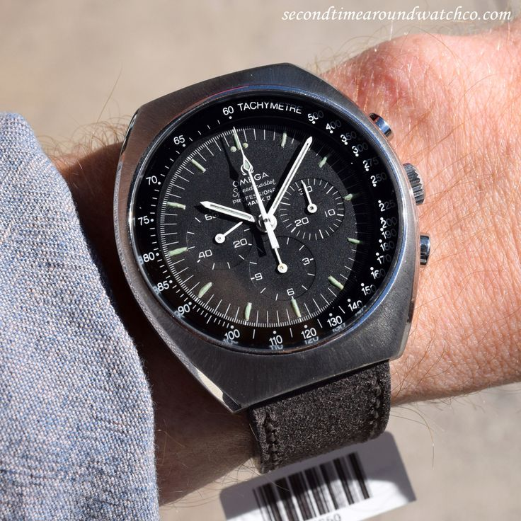 Yes! Today I'm sporting a 1969 Vintage Omega Speedmaster Professional Mark II…
