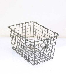 Wire Locker Basket - $35.00: Locker Baskets, Bathroom Storage, Wire Locker, Storage Baskets, Wire Baskets, Locker Basket I, Mudroom Baskets, Farm General