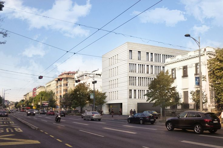NEW GERMAN EMBASSY - Mijic Architects