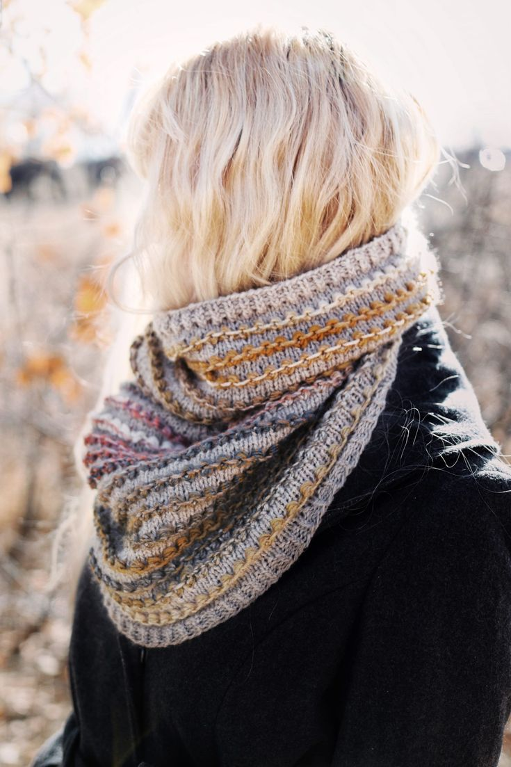 The Rosewood Cowl Knitting Pattern (Instant Download ...