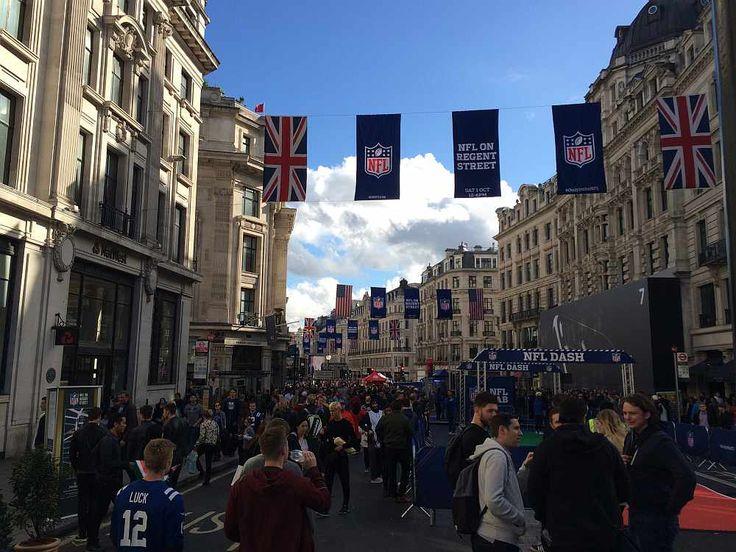 NFL London 2016 - NFL on Regent Street event.