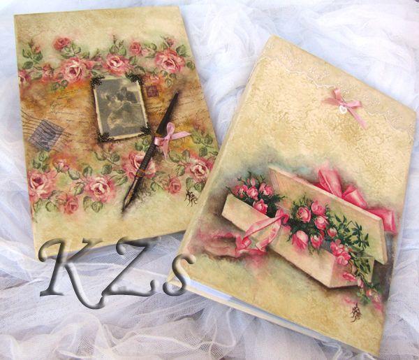 Álbum para fotos, artículos artesanales con decoración decoupage y totalmente personalizables