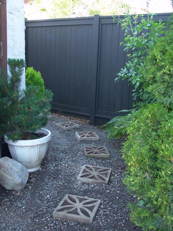 Garden Fence Paint Colour