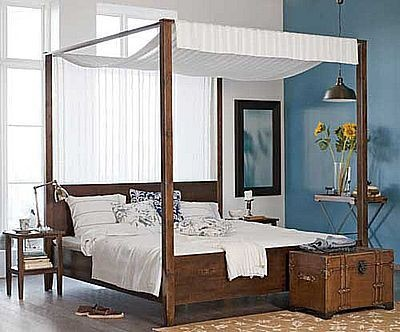 Ruang Tidur Etnik Minimalis. More see www.DParsitek.com #interior #architecture #arsitek
