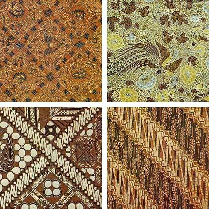 Central Javanese batik patterns - Batik Art Pekalongan