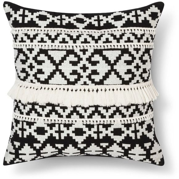 target threshold tassel pillow