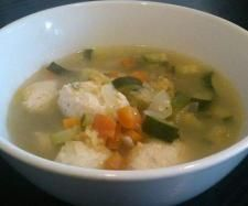 Recipe Chicken Dumplings in Soup (Paleo, GAPS, Gluten/Dairy FREE) - Recipe of category Main dishes - meat