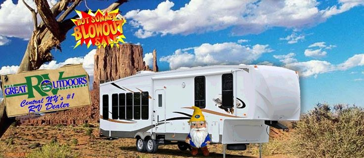 #PoeTheGnome is thinking about getting a #camper from the Great Outdoors #RV Superstore - not just because he likes #BreakingBad.