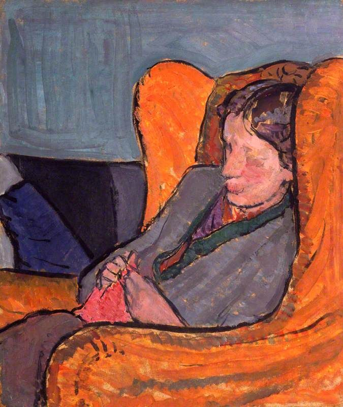 Virginia Woolf, née Stephen, 1912 Vanessa Bell (1879–1961) National Portrait Gallery, London