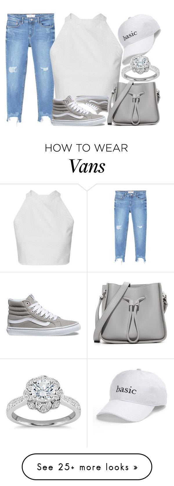 """""""Untitled #2551"""" by claudcsilva on Polyvore featuring MANGO, Vans, 3.1 Phillip Lim, SO and Zac Posen"""
