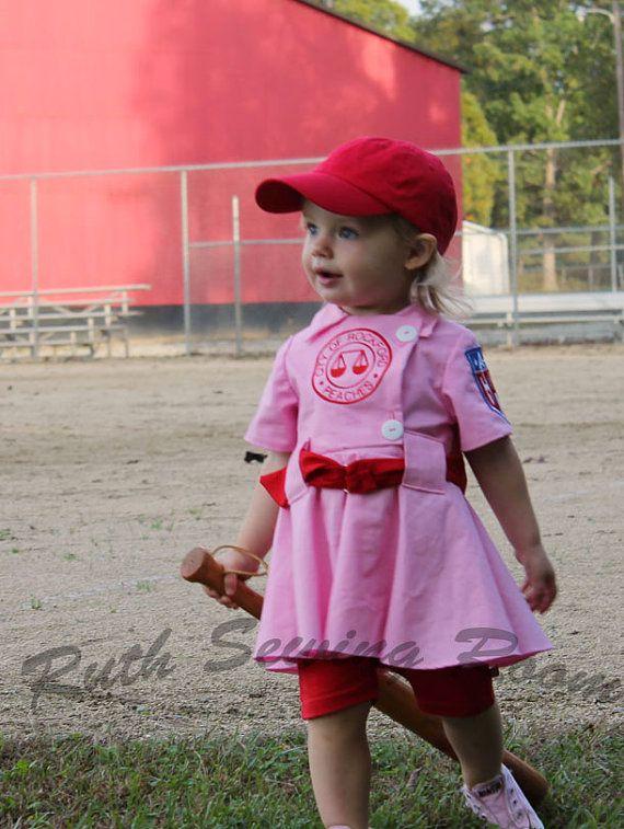 Children sizes 12m/18, 2/3, 4/5, 6/7  Rockford Peach Costume for Dress Up on Etsy, $99.95