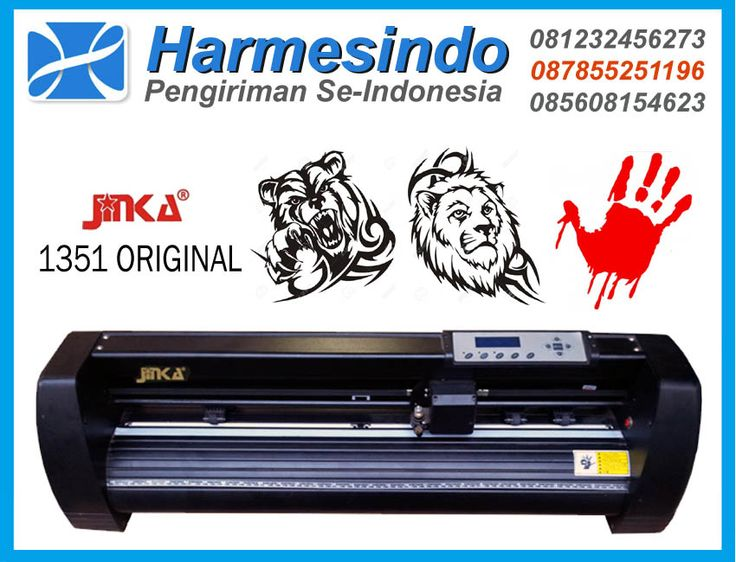 Mesin Cutting Sticker Jinka 1351 Original