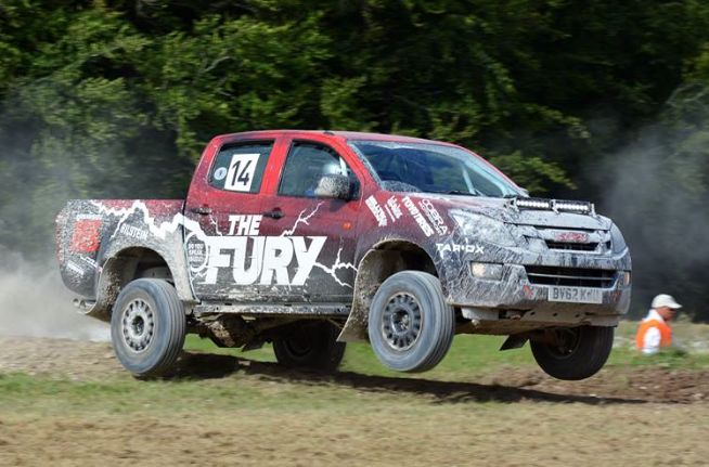 Action at Goodwood Festival of Speed! ‪#‎FOS‬ ‪#‎SPEAKISUZU