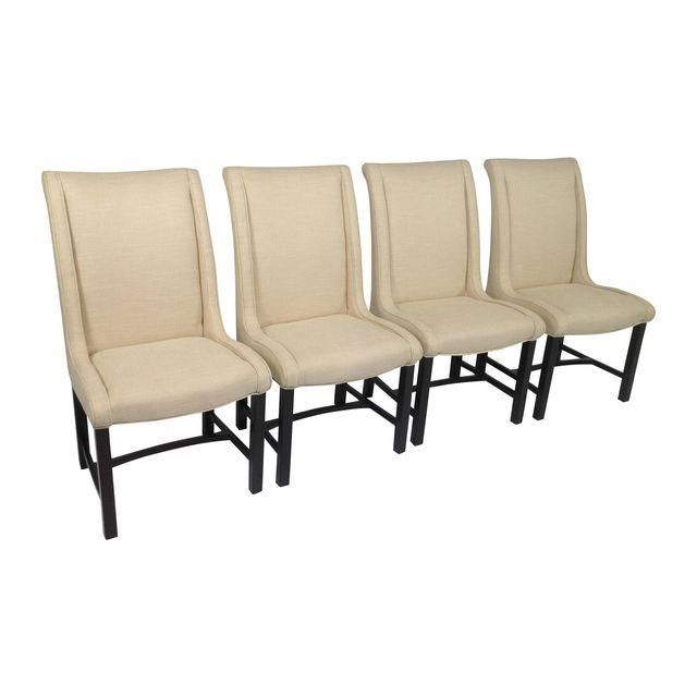 Image of Baker Mid Century Dining Chairs - Set of 4