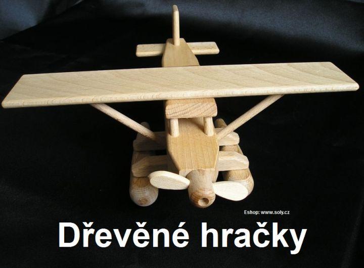 Hydroplán. Dřevěné hračky pro děti. Česká výroba. skladem na www.soly.cz 299,- Kč