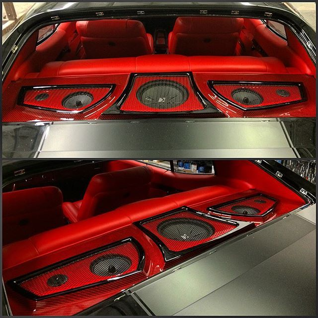instagram post by efrenbigsrangel bigster805 red interiors carbon fiber and car audio. Black Bedroom Furniture Sets. Home Design Ideas