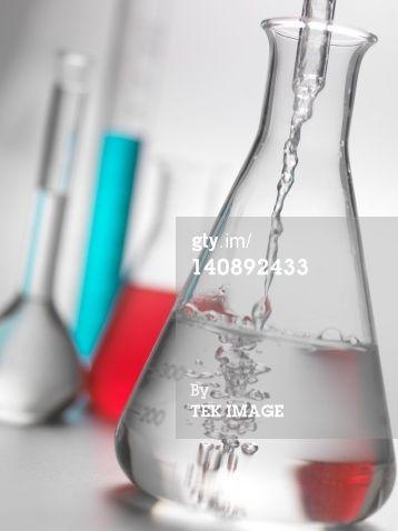 Laboratory Glassware Stock Photo 140892433