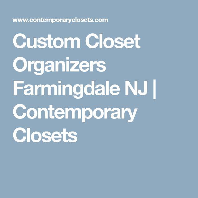 Custom Closet Organizers Farmingdale NJ | Contemporary Closets