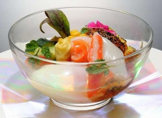 中国料理のおすすめ1品「月見蔵王」