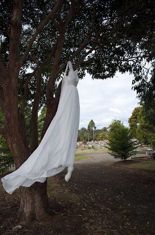 'Bodies, Rituals and Desire', Peculiar Anne's Janet Parker-Smith, Claude Jones and Myself, Sculpture and installation at Rookwood 'Hidden' Sculpture Walk.