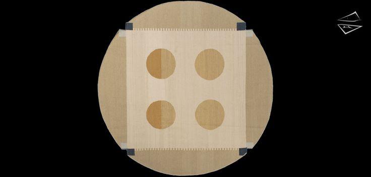 7x 7 Nicholls Design Round Rug