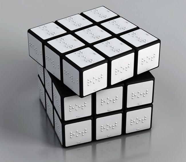 Braille Rubrik's cube