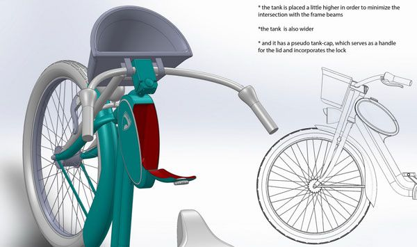 The Bike of Girls' Dreams | Yanko Design