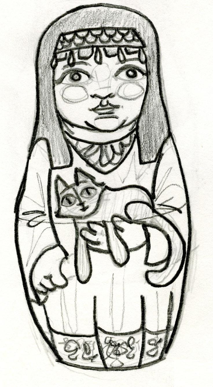 26 Best Matryoshka Images On Pinterest   Matryoshka Doll ...